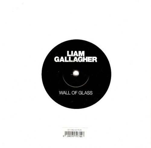 LIAM GALLAGHER Wall Of Glass Vinyl Record 7 Inch Warner Bros. 2017